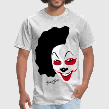 Bloody Clown Halloween Clown Mask - Men's T-Shirt