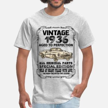 1936 Aged To VINTAGE 1936-AGED TO PERFECTION - Men's T-Shirt