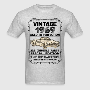 VINTAGE 1969-AGED TO PERFECTION - Men's T-Shirt