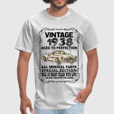 VINTAGE 1938-AGED TO PERFECTION - Men's T-Shirt