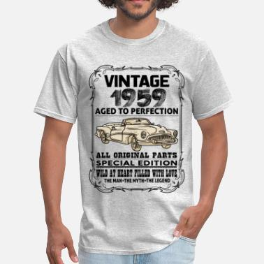 1959 Aged To VINTAGE 1959-AGED TO PERFECTION - Men's T-Shirt