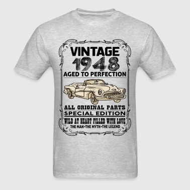 VINTAGE 1948-AGED TO PERFECTION - Men's T-Shirt