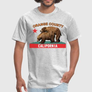 Orange County Calipornia - Men's T-Shirt