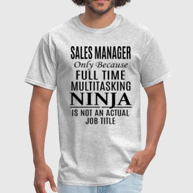 Managers Sales Manager - Men's T-Shirt