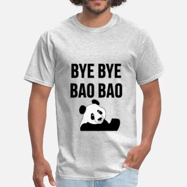 Bao Bao BYE BYE BAO BAO The Cute Panda is Leaving USA Tee - Men's T-Shirt