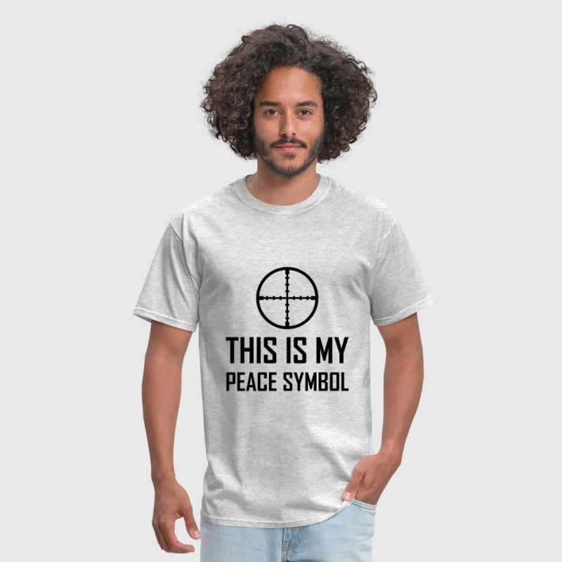 Gun Site My Peace Symbol By Ben30022 Spreadshirt
