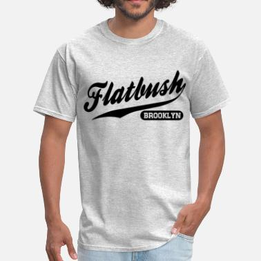 Flatbush Flatbush Brooklyn - Men's T-Shirt