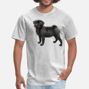 Pugs Geek pug - Men's T-Shirt