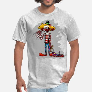Killer Nerd killer clown - Men's T-Shirt