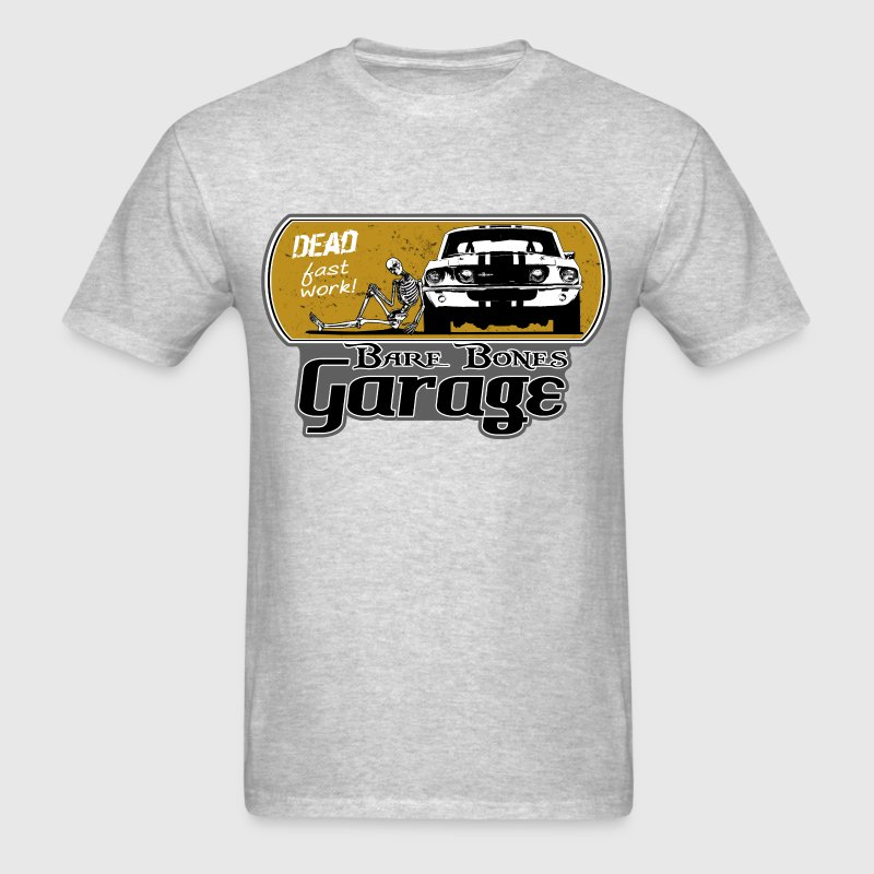Bare Bones Garage - Men's T-Shirt