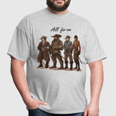 BBC-Musketeers2 - Men's T-Shirt