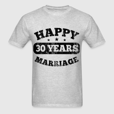 30 Years Happy Marriage - Men's T-Shirt