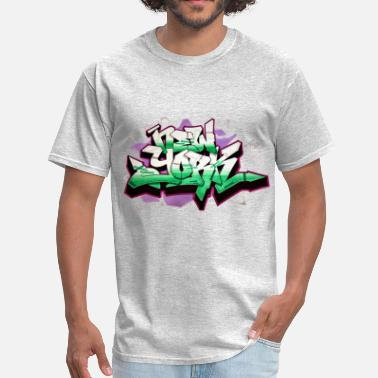 Shop RANGE - Design for New York Graffiti Color Logo - Men's T-Shirt