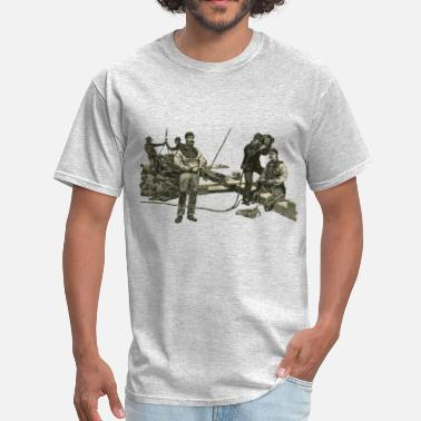 Dive Helmet Vintage East River Divers with Diving Helmets - Men's T-Shirt
