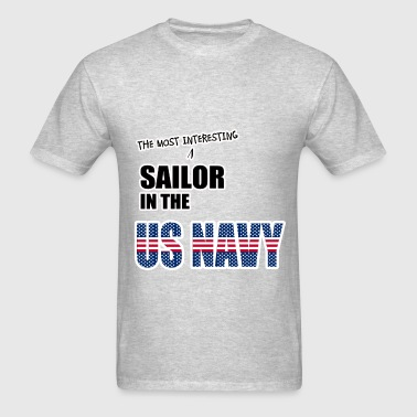 Sailor in the US Navy - Men's T-Shirt