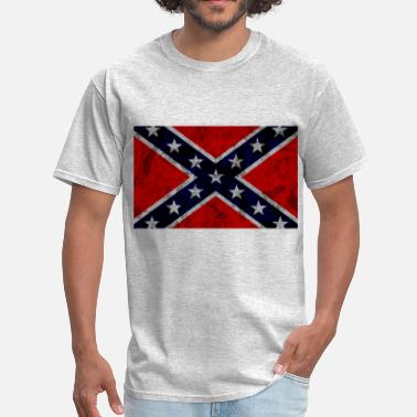 Rebel Confederate Flag - Men's T-Shirt