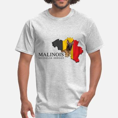 Mechelse Herder Malinois-Belgian shepherd - Men's T-Shirt