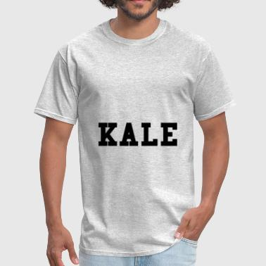 Kale College Font Funny - Men's T-Shirt