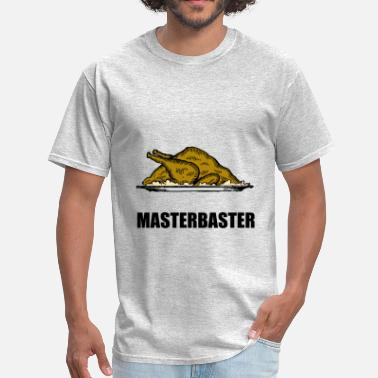 Funny Holiday Masterbaster Funny Holiday Turkey - Men's T-Shirt