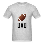 Football Dad Sports Football Sports Dad - Menu0026#39;s ...  sc 1 st  Spreadshirt : sports gifts for dad - medton.org