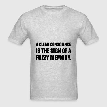 Clear Conscience Sign Of - Men's T-Shirt