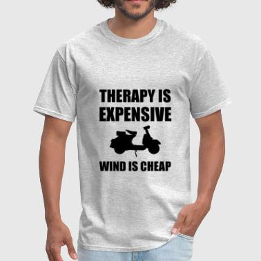 Therapy Is Expensive Wind - Men's T-Shirt