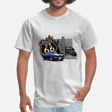 Filling Station Route 66 Filling Station - Men's T-Shirt