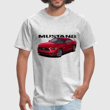 Red Stang - Men's T-Shirt