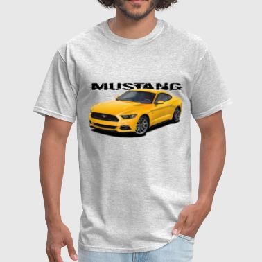 Yellow Stang - Men's T-Shirt