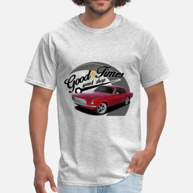 1965 Ford Mustang Good Times Mustang - Men's T-Shirt