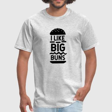 i like BIG BUNS - Men's T-Shirt