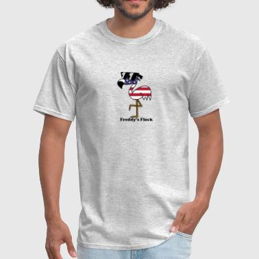 USA Freddy with Words - Men's T-Shirt