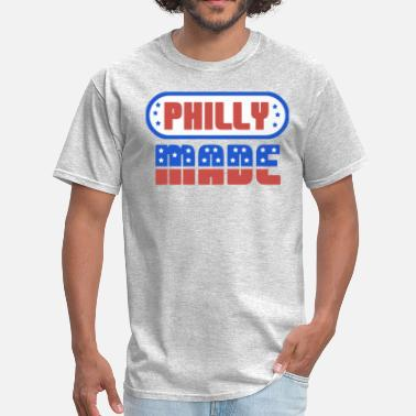 Philly Heart Philly Made - Men's T-Shirt