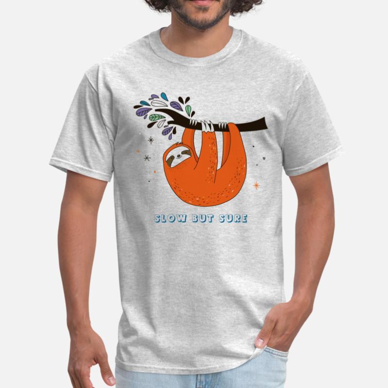 169ae508d Shop Sloth T-Shirts online | Spreadshirt