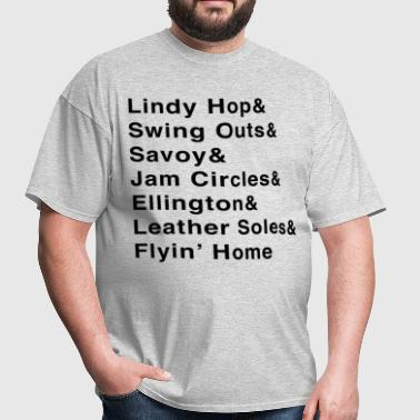 Lindy Hop & Shirt - Men's T-Shirt