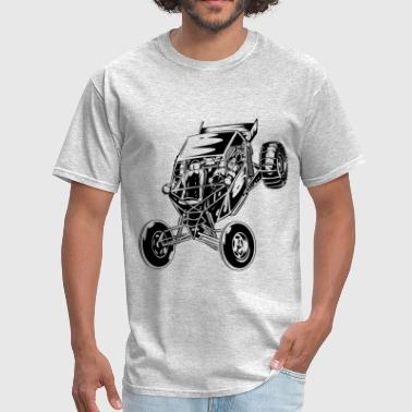 Dune Buggy Paddle Tires - Men's T-Shirt