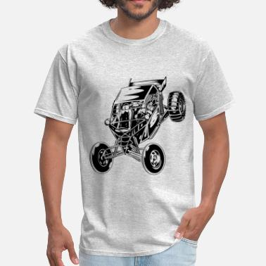 Dune Dune Buggy Paddle Tires - Men's T-Shirt