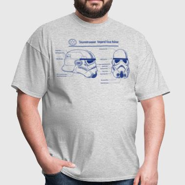stormtrooper blueprint star wars - Men's T-Shirt