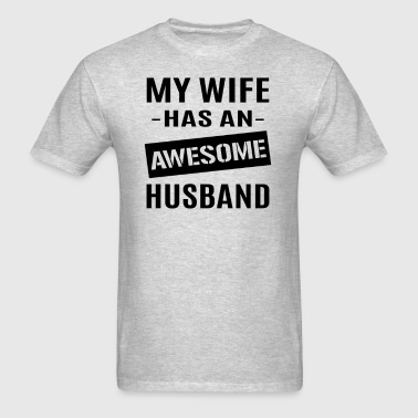 Awesome Husband - Men's T-Shirt