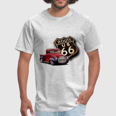 Route 66 Street Rod - Men's T-Shirt