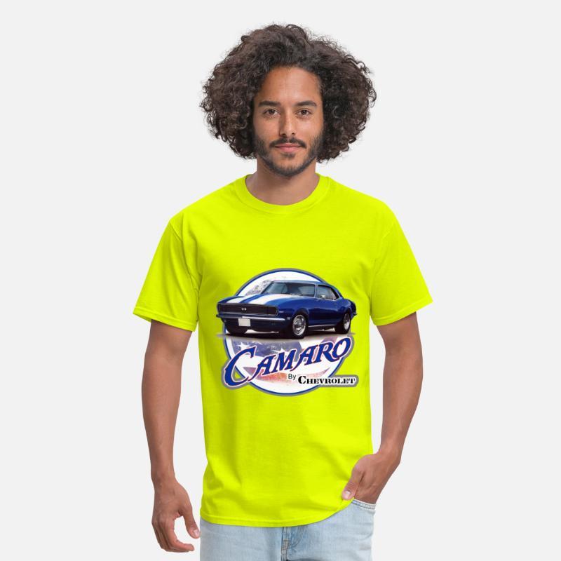 ab35aa6cd American Flag 1968 Camaro Men's T-Shirt   Spreadshirt