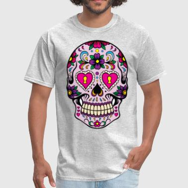 mexican skull - Men's T-Shirt
