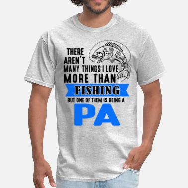 Proud Pa Fishing Pa - Men's T-Shirt