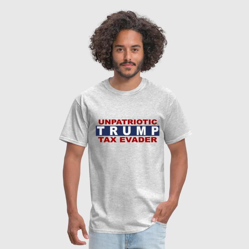 Unpatriotic Trump taxes - Men's T-Shirt