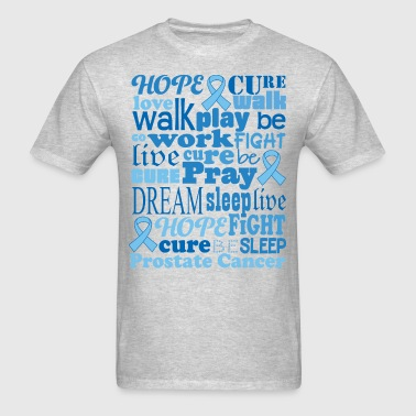 Prostate Cancer Awareness Support - Men's T-Shirt