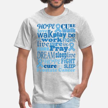 c5dc04b5b8 Prostate Cancer Walk Prostate Cancer Awareness Support - Men's T-Shirt