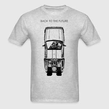 Delorean - Men's T-Shirt