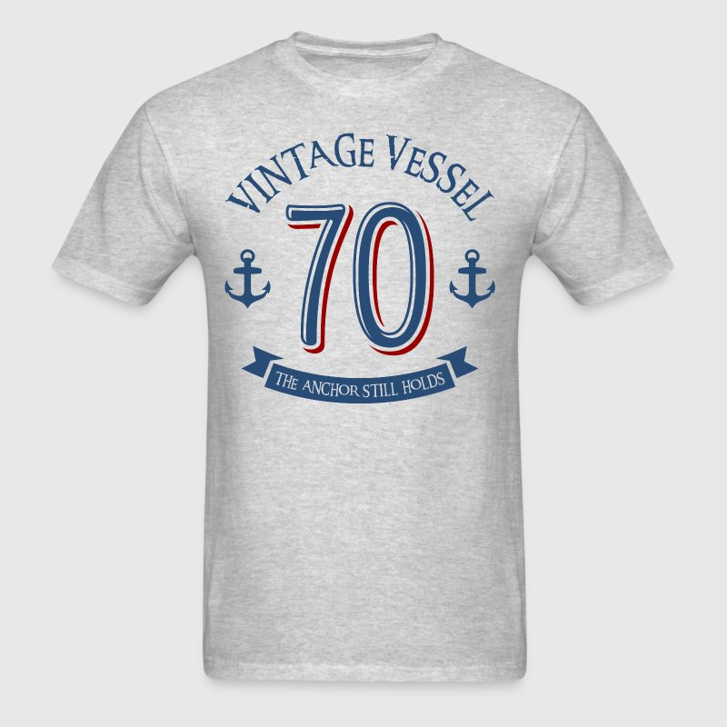 Nautical 70th Birthday - Men's T-Shirt
