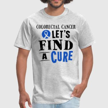 Colorectal Cancer Awareness Ribbon - Men's T-Shirt