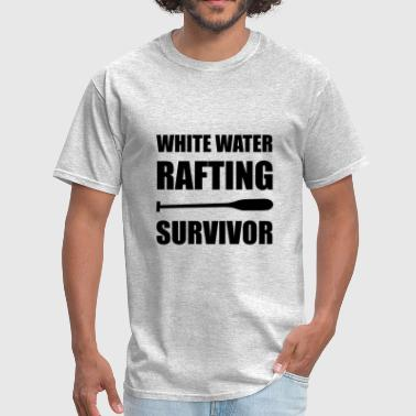 Adrenaline Jokes White Water Rafting Survi - Men's T-Shirt